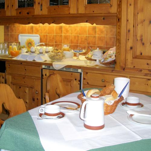 Gästehaus Burgi Frühstück